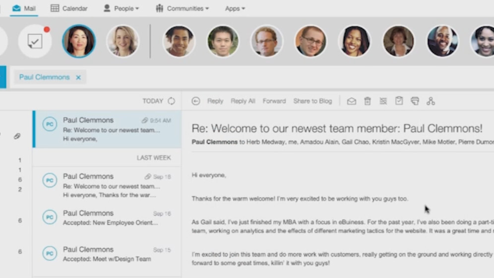 IBM revamps enterprise email with Verse, a service that integrates social, file sharing, IM and more