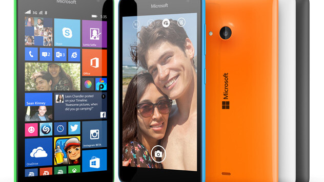 Microsoft drops the Nokia moniker for the new Lumia 535 smartphone