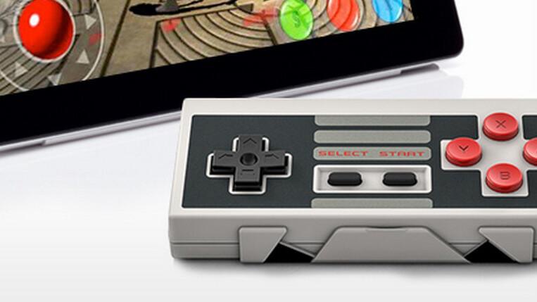 Get 25% off the retro NES30 Bluetooth game controller