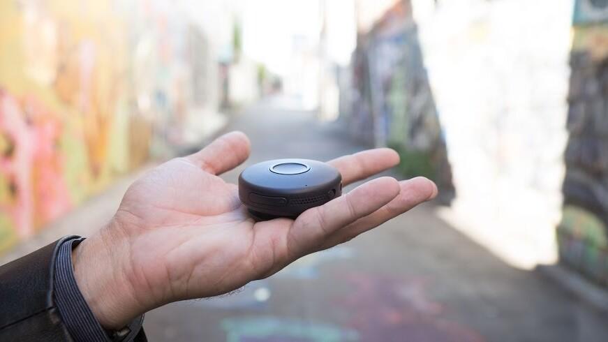 OnBeep's Onyx is a wearable walkie-talkie