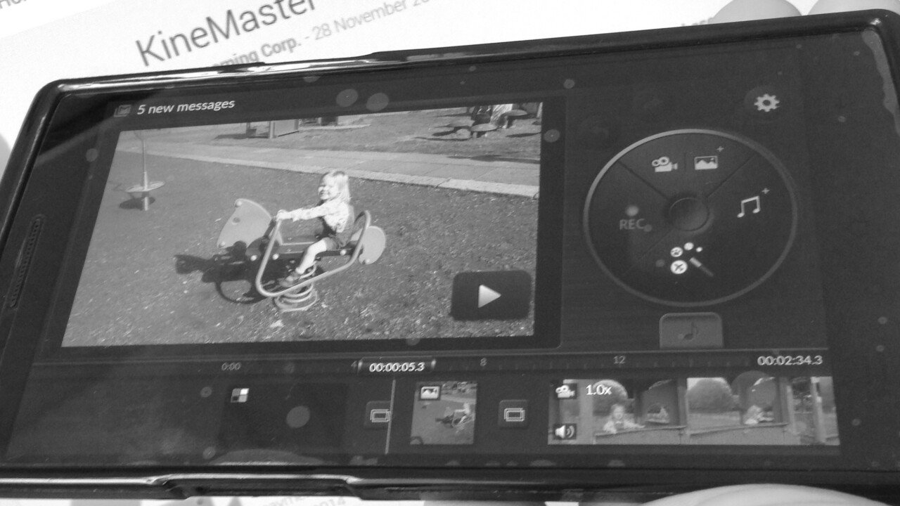 KineMaster could be the best Video Editor for Android