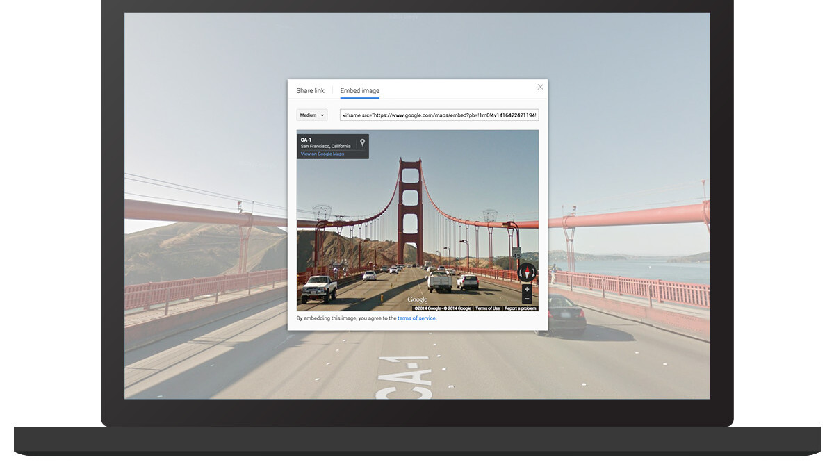 How to embed Google Maps Street View and Photo Sphere panoramas directly into websites