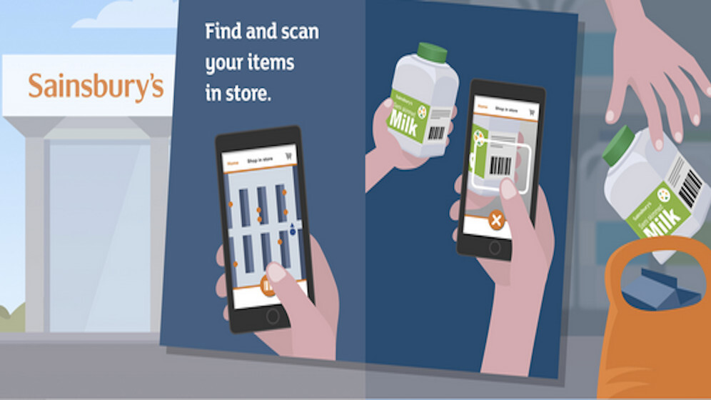 Sainsbury's new app is sat-nav for your shopping