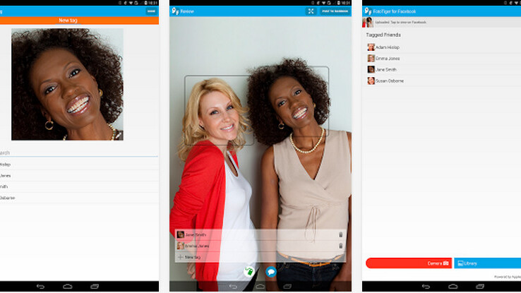 """FotoTiger facial recognition app for Android puts the """"Who"""" in your photos"""