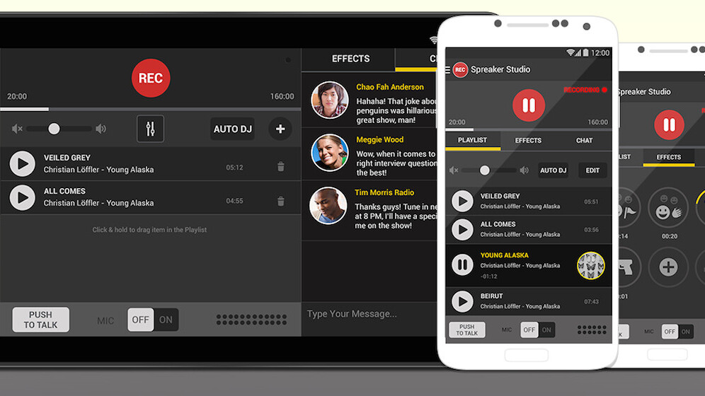 Spreaker Studio: Podcast live from your Android device