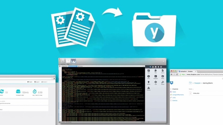 Yoozon hosts CMS sites using Dropbox, no FTP required
