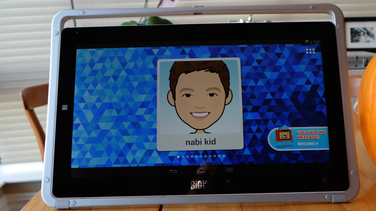 Nabi's 20-inch Big Tab HD tablet gets kids playing together on one gigantic screen