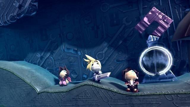 Final Fantasy 7 finally gets a Playstation 4 'remake' via Little Big Planet