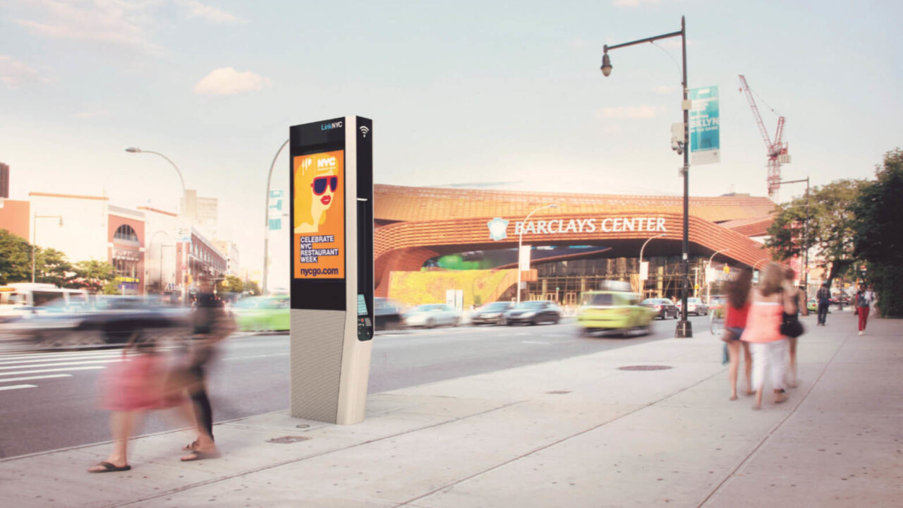 New York City's payphones are being replaced with kiosks armed with free gigabit Wi-Fi and charging outlets