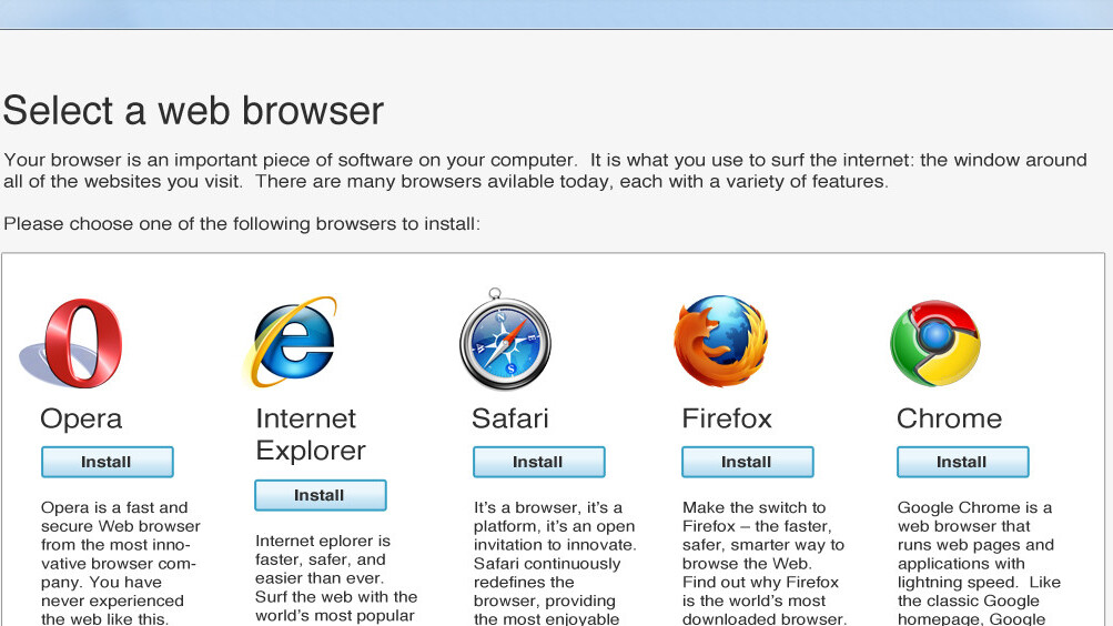 Microsoft pulls EU-mandated Browser Choice website down after five years