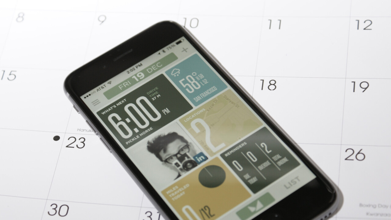TNW's Apps of the Year: Mynd, the schedule wrangler