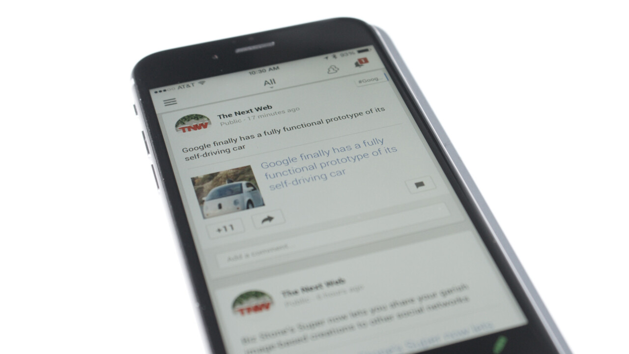 Google+ for iOS updated for iPhone 6 and 6 Plus displays and poll support