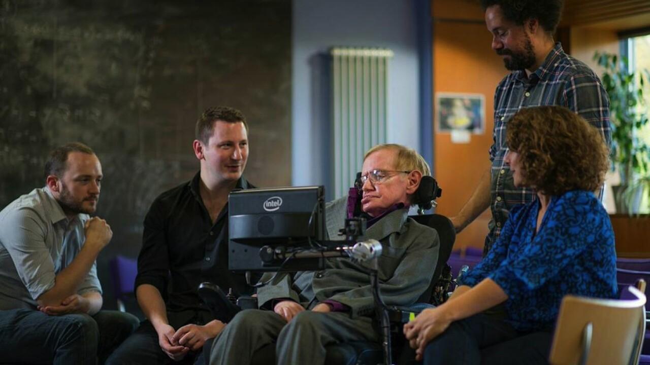 Professor Stephen Hawking's speedy new Intel speech system is built on SwiftKey