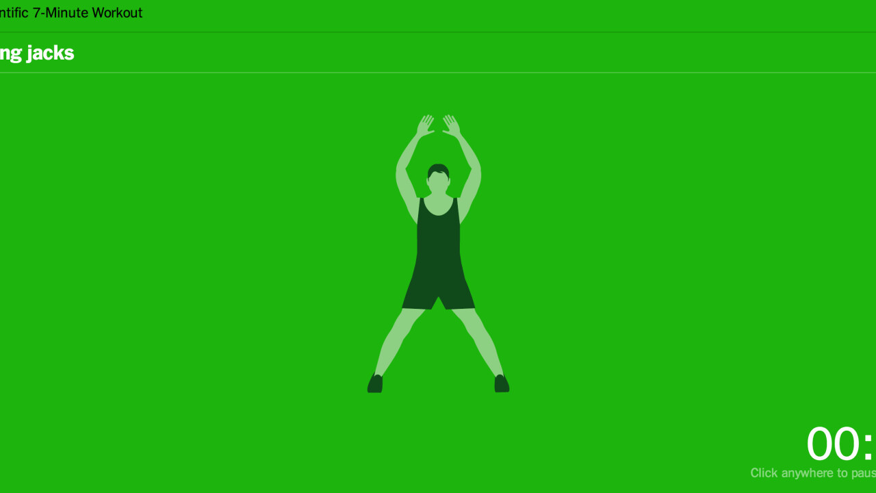 TNW's Apps of the Year: 7 Minute Workout is all you need to get moving