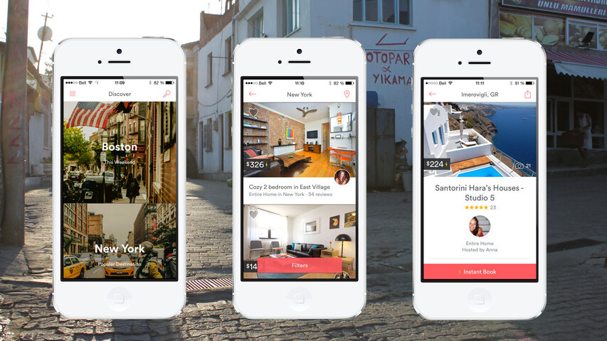 Airbnb updates its mobile site with responsive design and larger images in search results