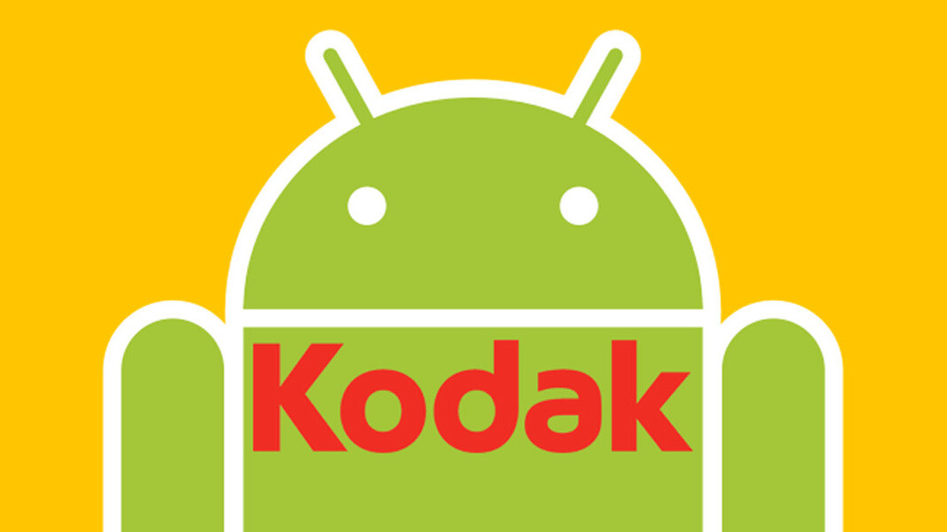 Kodak is coming out with an Android smartphone at CES; a tablet and camera will follow