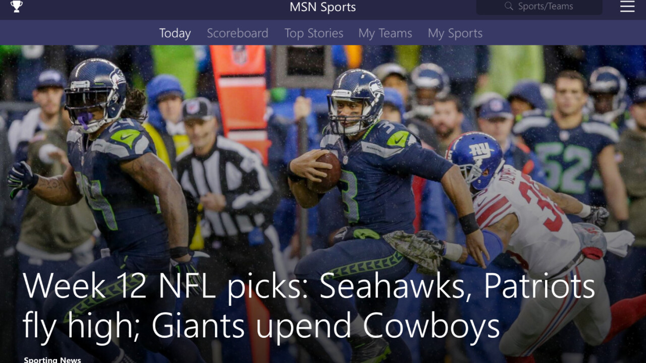 Microsoft rolls out suite of MSN apps for iOS and Android, including Weather, News and Sports