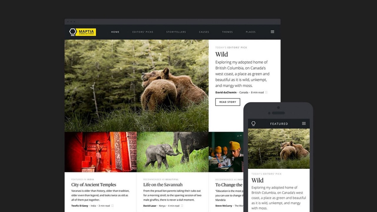 Maptia's storytelling platform is a haven for writers and photographers with wanderlust