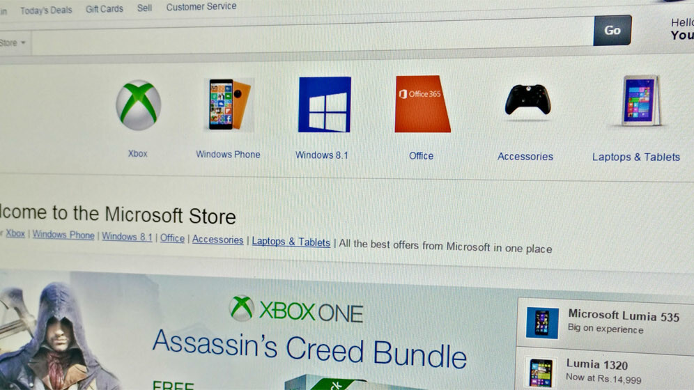 Microsoft begins retailing devices, consoles, Office and more in India via Amazon