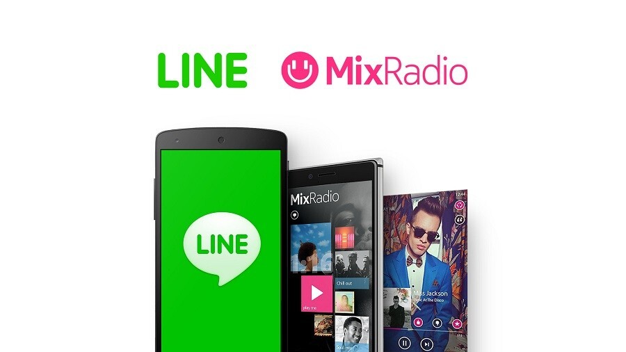 Line is buying Microsoft's MixRadio music streaming service