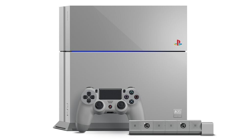 Sony reveals PS4 20th Anniversary Edition in original PlayStation colors