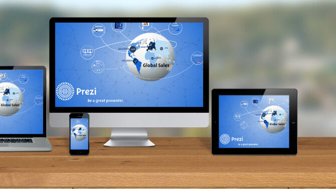 Prezi now lets users deliver and watch live presentations from anywhere