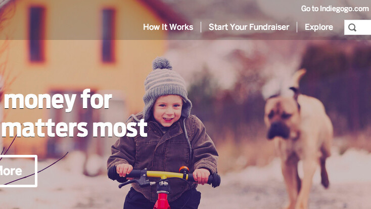 Indiegogo launches Life, a fee-free crowdfunding site for personal causes
