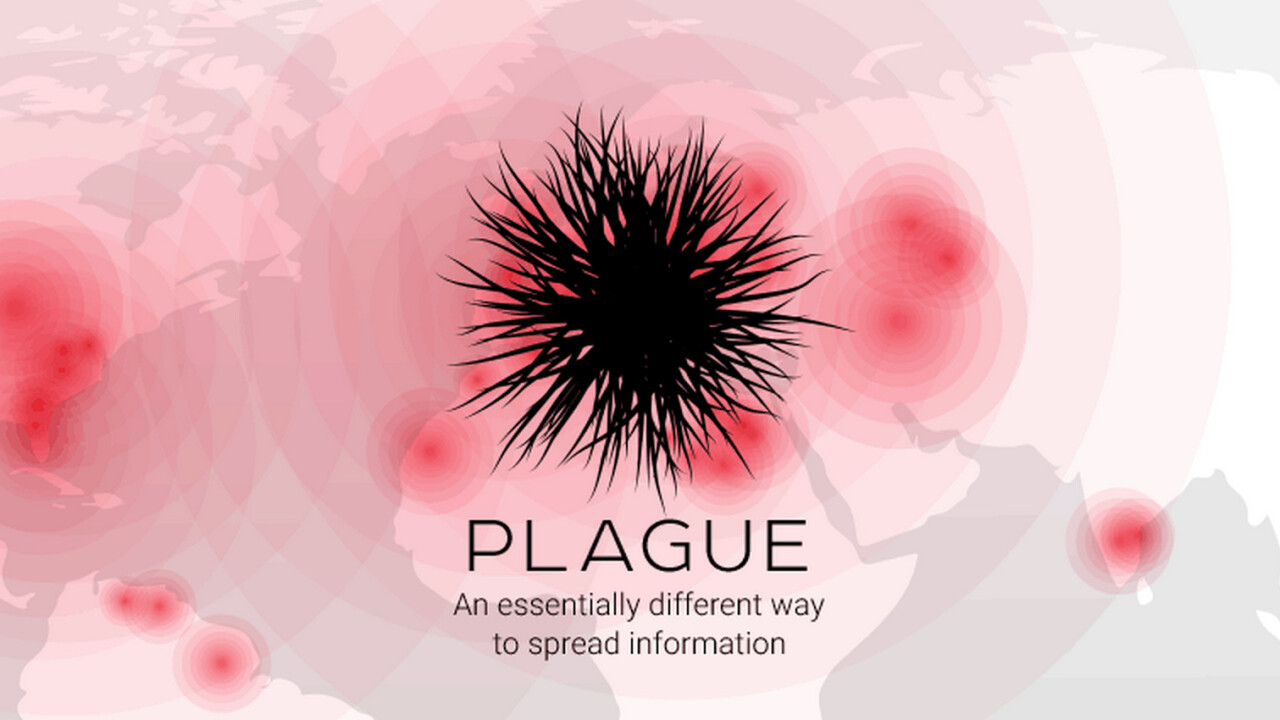 """Plague is a new app for """"infecting"""" users with information"""