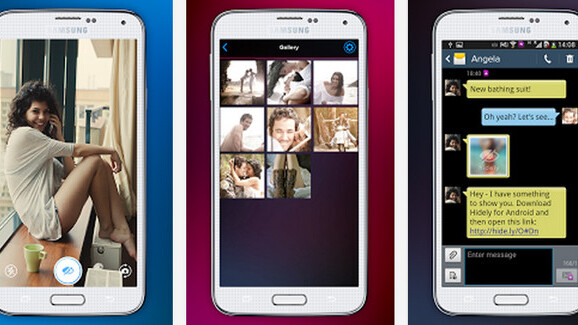 Hidely private photo app launches on Android