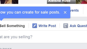 Facebook is testing an official way to sell goods in Groups