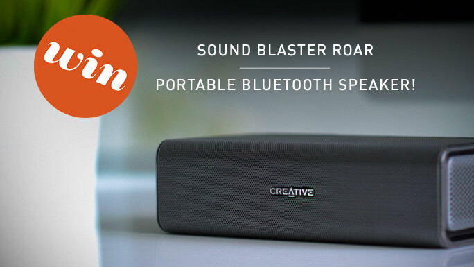 TNW giveaway: Win a Sound Blaster Roar from Creative.com