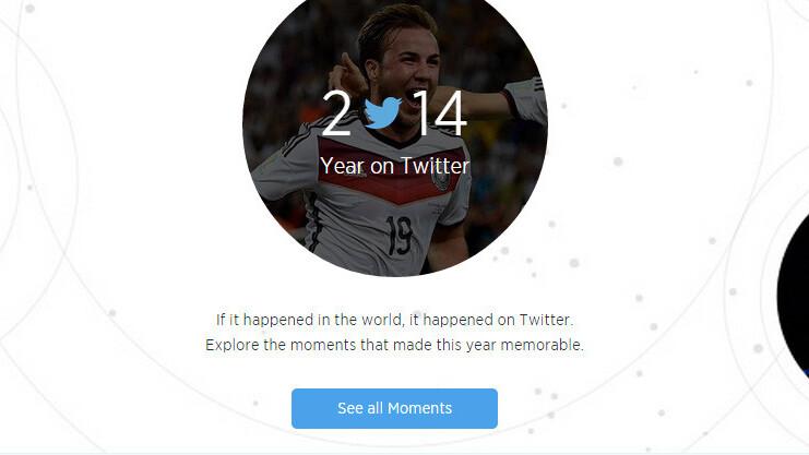 Twitter looks back on 2014