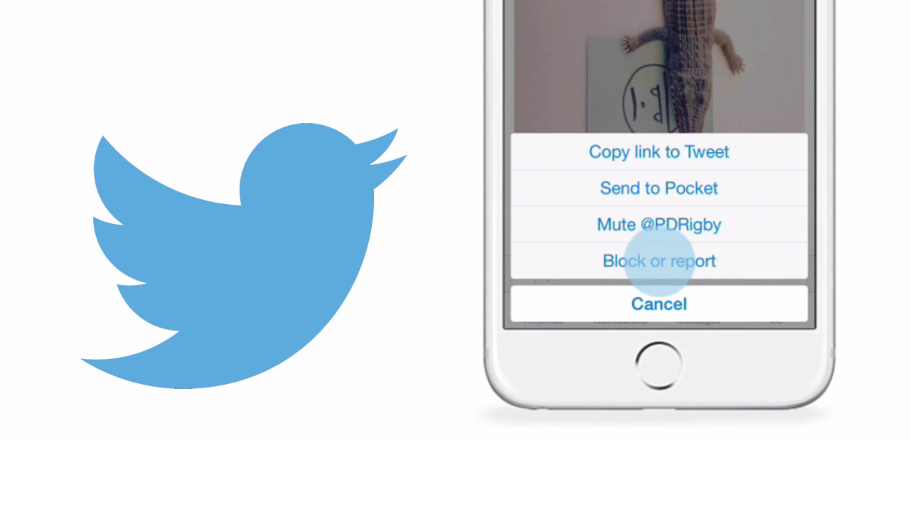 Twitter aims to keep the trolls at bay with improved 'block' feature