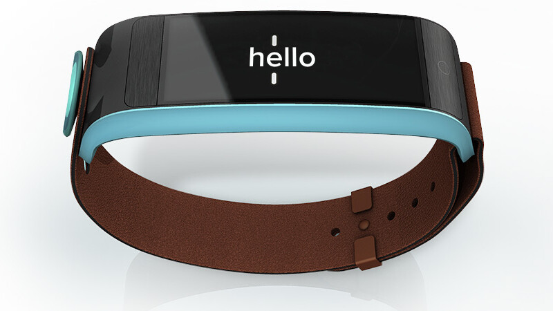 Notifications meet speed-reading on the Uno Noteband