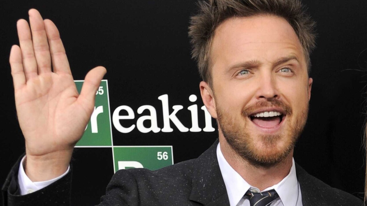 Breaking Bad's Aaron Paul just dropped his own Yo app spinoff