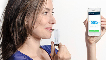 Get 20% off the BACtrack Vio Smartphone Breathalyzer (available worldwide)