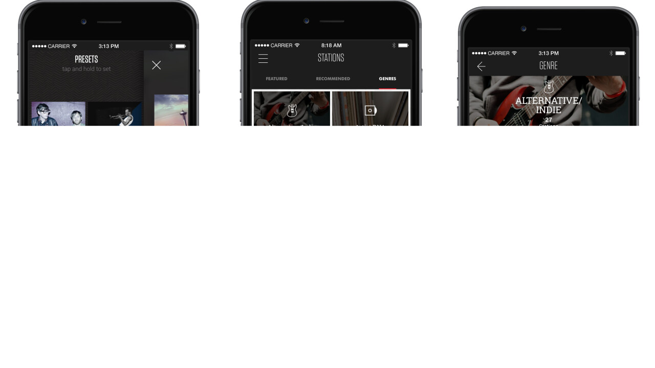 Slacker Radio redesign now rolling out on iOS and desktop, bringing dedicated channels for Web celebs