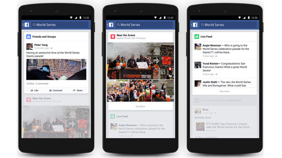 Facebook rolls out enhanced Trending feature for Android