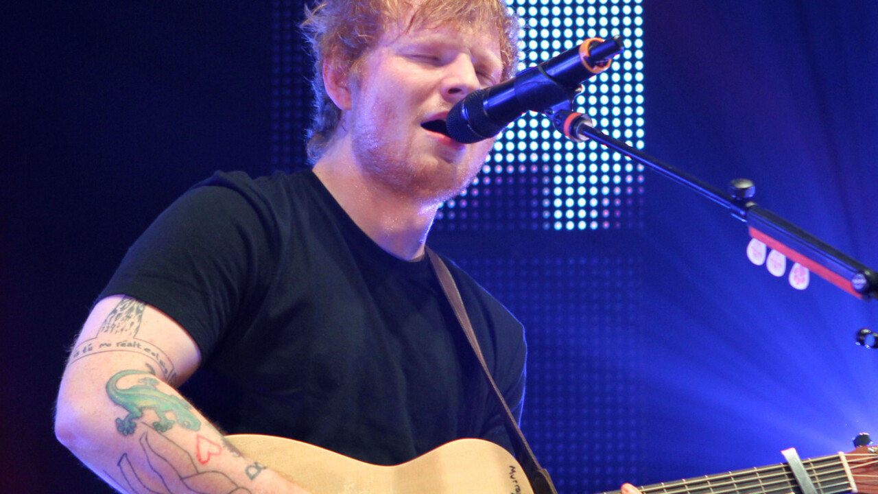 Ed Sheeran, Katy Perry and Pharrell top Spotify's 'most-streamed' list for 2014