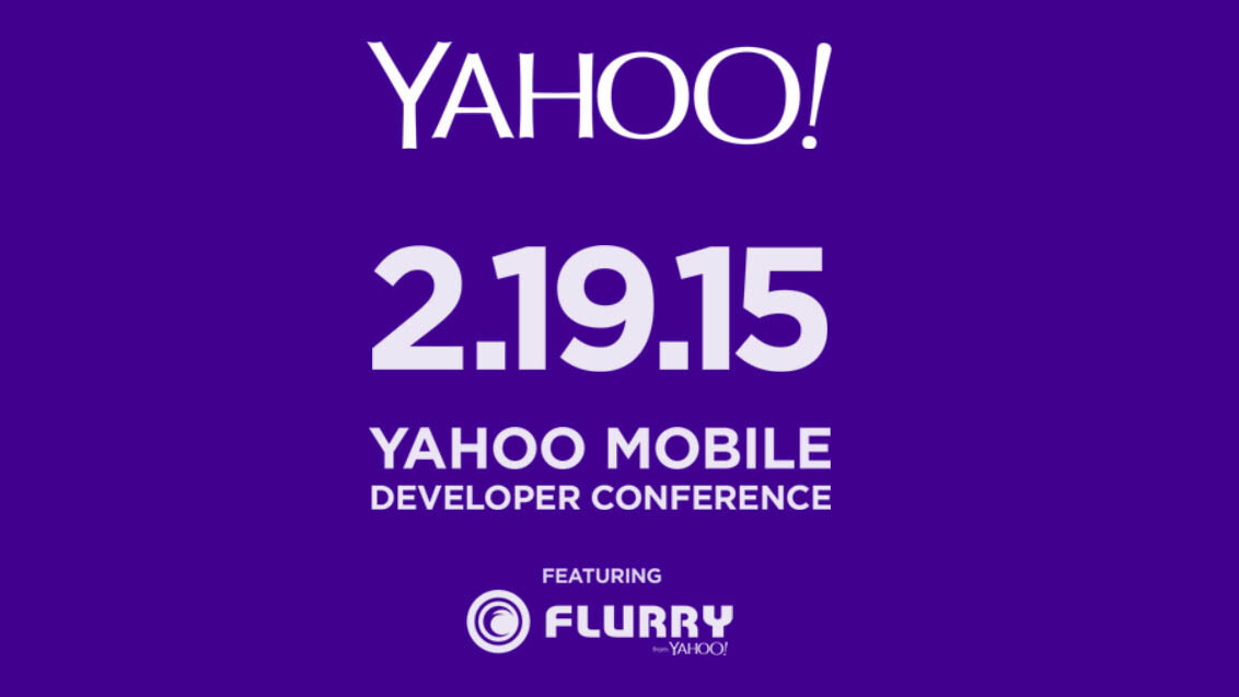 Yahoo is hosting its first ever developer conference on February 19