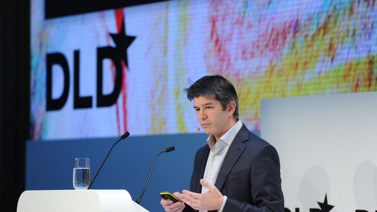 Uber's Travis Kalanick promises 50,000 European jobs in 2015 if regulators play nice