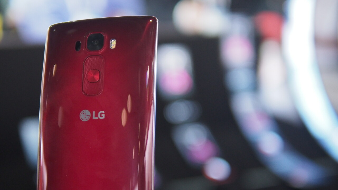 Hands-on with the redesigned LG G Flex 2