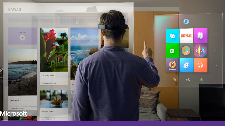 Microsoft unveils Windows Holographic, HoloLens wearable