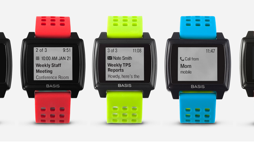 The Basis Peak fitness tracker gets an update, now displays notifications from your phone