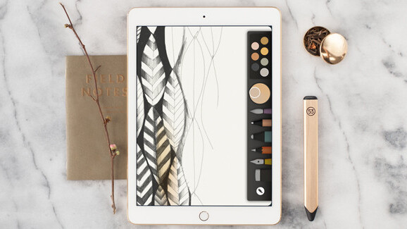 FiftyThree goes for the gold (tone) with its new tablet stylus