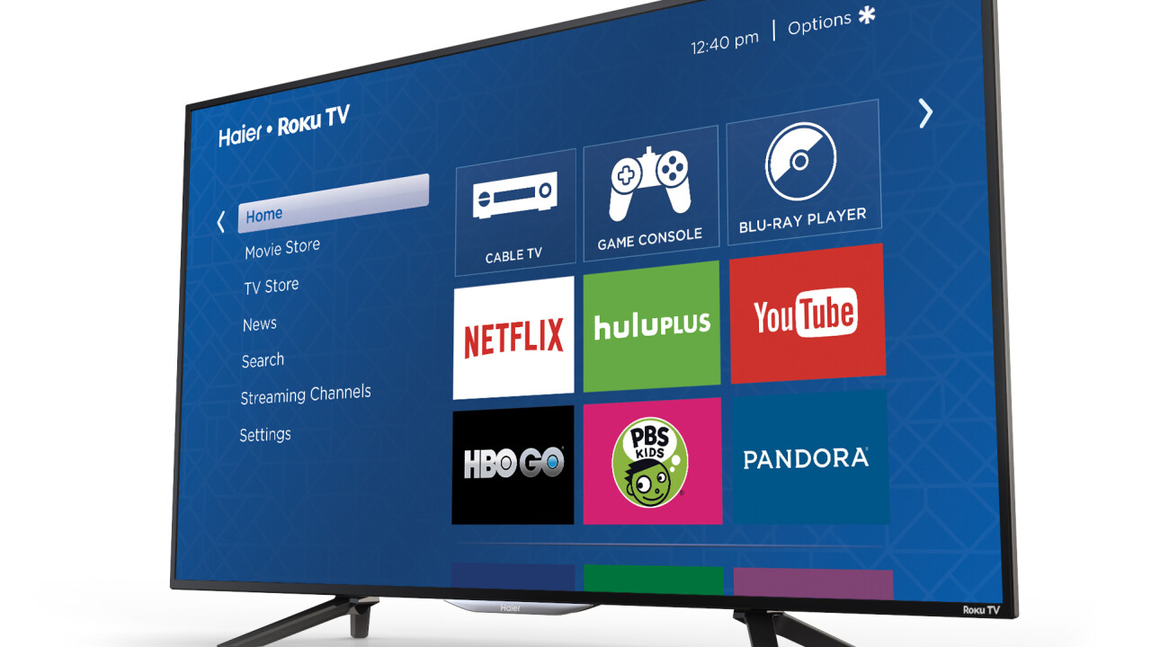 Roku teams up with Insignia and Haier for Roku TV and announces future 4K support
