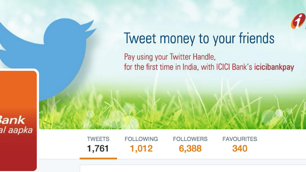 This Indian bank now lets customers transfer money via Twitter