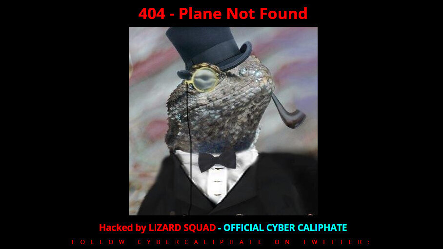 Malaysia Airlines site hacked by Lizard Squad