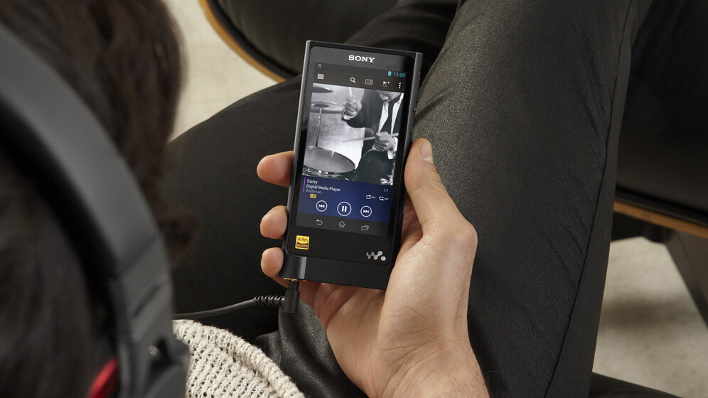 Sony's hi-def NW-ZX2 Walkman available for pre-order from tomorrow at $1,280