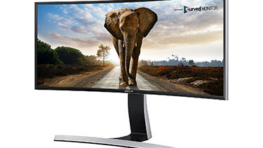 Samsung unveils curved PC Monitors for the mainstream at CES
